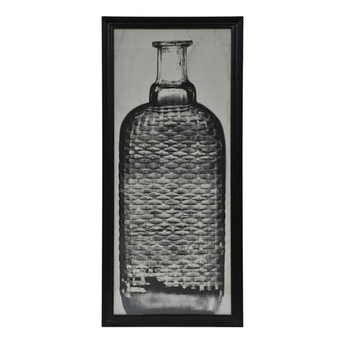 Lot 57 - Graphics Copper Bottle 2 Black Wood 59 X 3 X 130.5cm