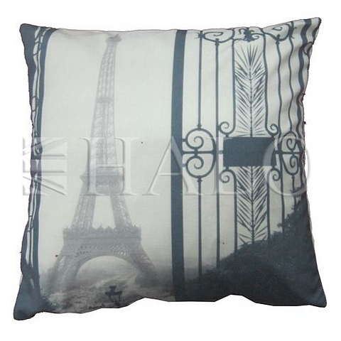 Lot 81 - Emelie's Eiffel Tower Cushion 45 X 45 X 15cm