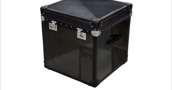 Lot 3 - Paris Trunk Black Steel This Authentic Trunk Truly Speaks The Heritage Of The Brand Inspired By
