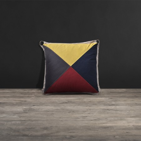Lot 77 - Blind Semaphore D Cushion Small