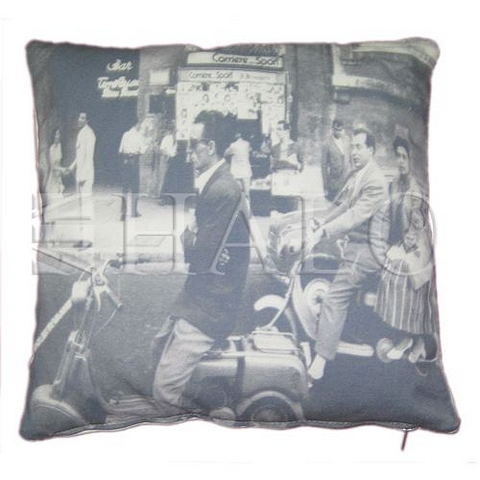 Lot 73 - Emelie's Vespa Cushion Medium 45 X 45 X 15cm