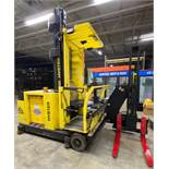 2003 ELECTRIC HYSTER V30XMU ELECTRIC MAN UPSWING REACH TURRET TRUCK