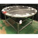 Powered Stainless Steel Lazy Susan | Dia: 1520mm | 3 Phase