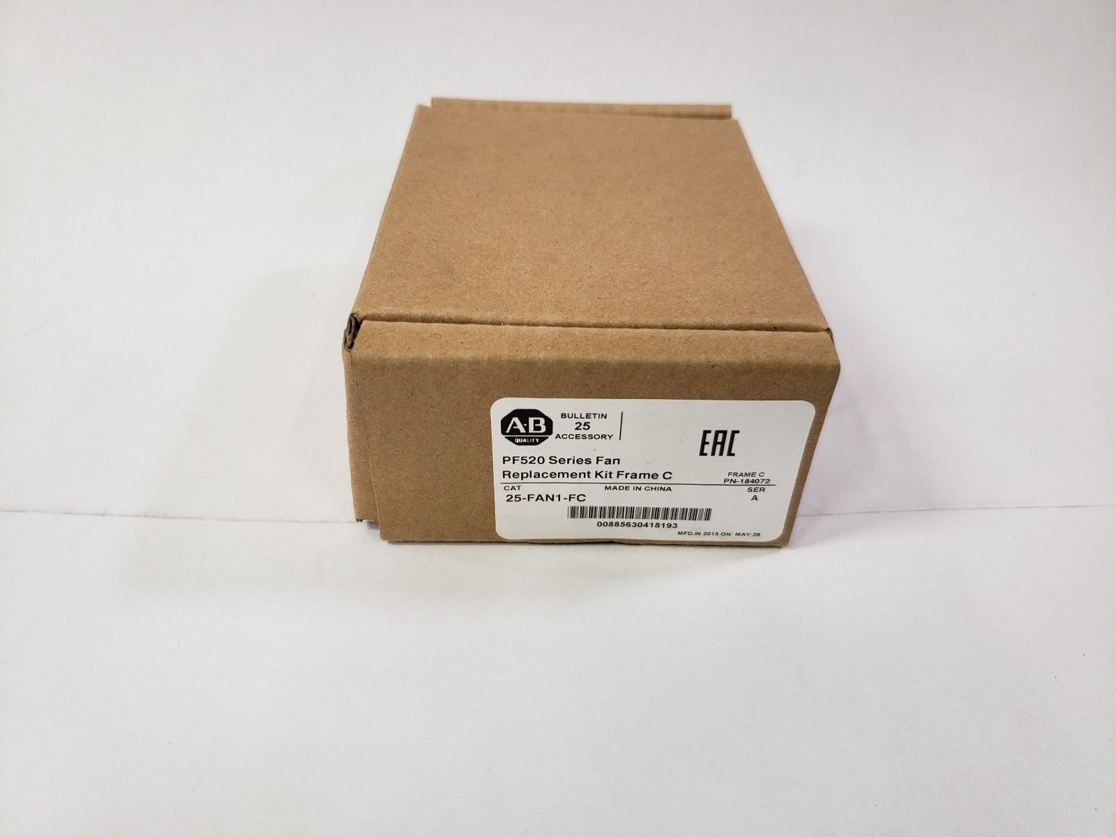 Lot 15A - New Allen Bradley PF520 Series Fan Replacement Kit Frame