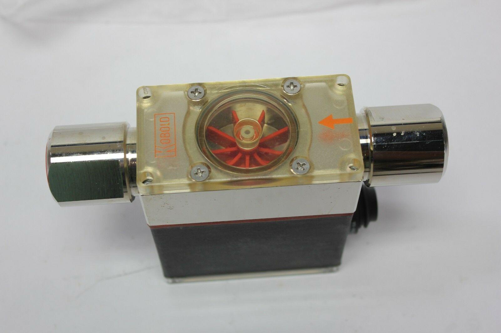 Lot 8B - New Kobold Stainless Steel DF-WM Paddle Wheel Flow Switch