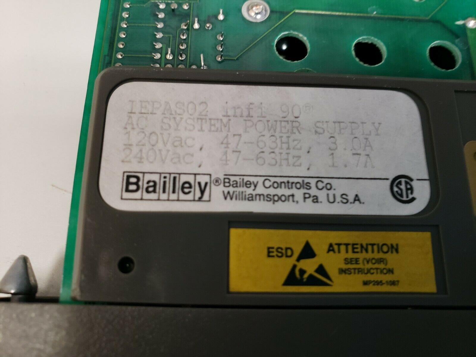 Lot 8D - ABB BAILEY INFI 90 PLC MODULE
