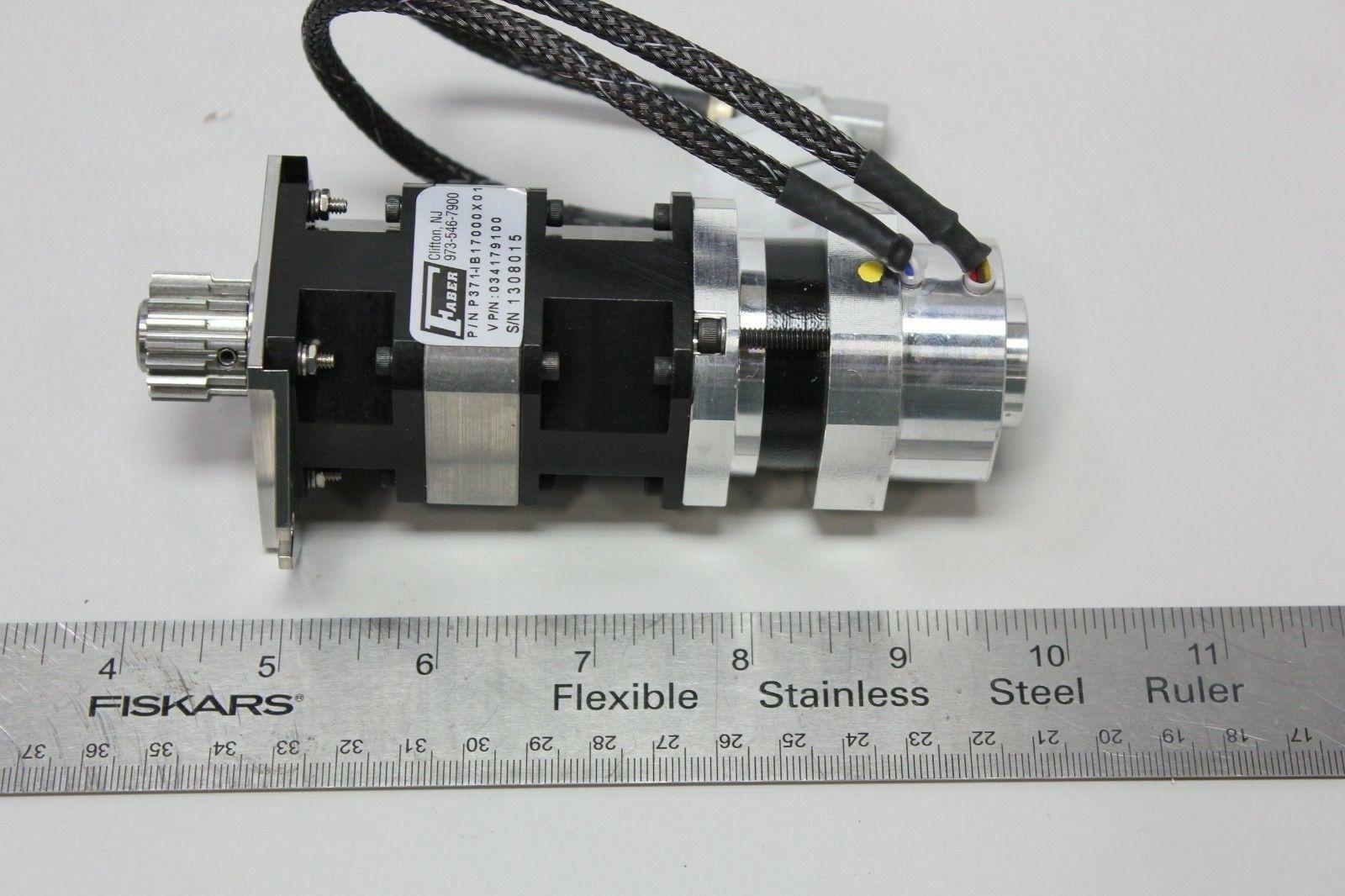 Lot 9A - Unused Ametek Pittman DC Servo Motor W/Faber Gearhead