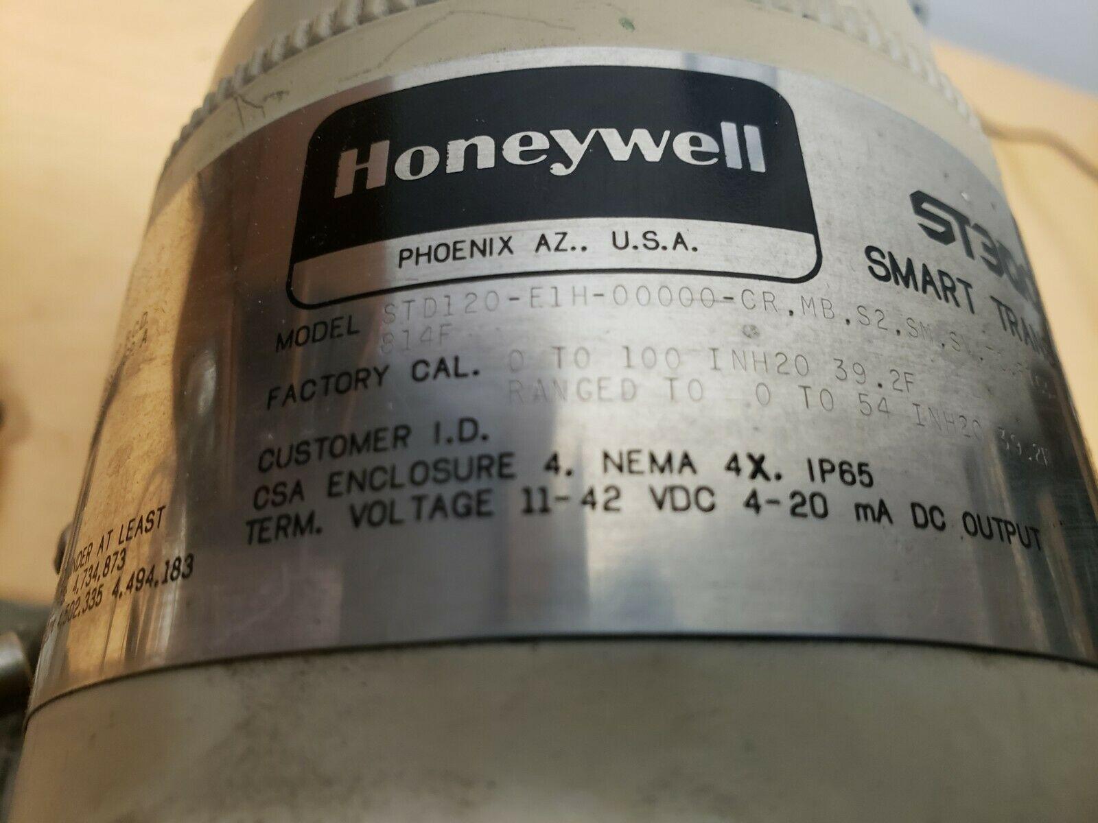 Lot 11A - Honeywell ST3000 Smart Pressure Transmitter