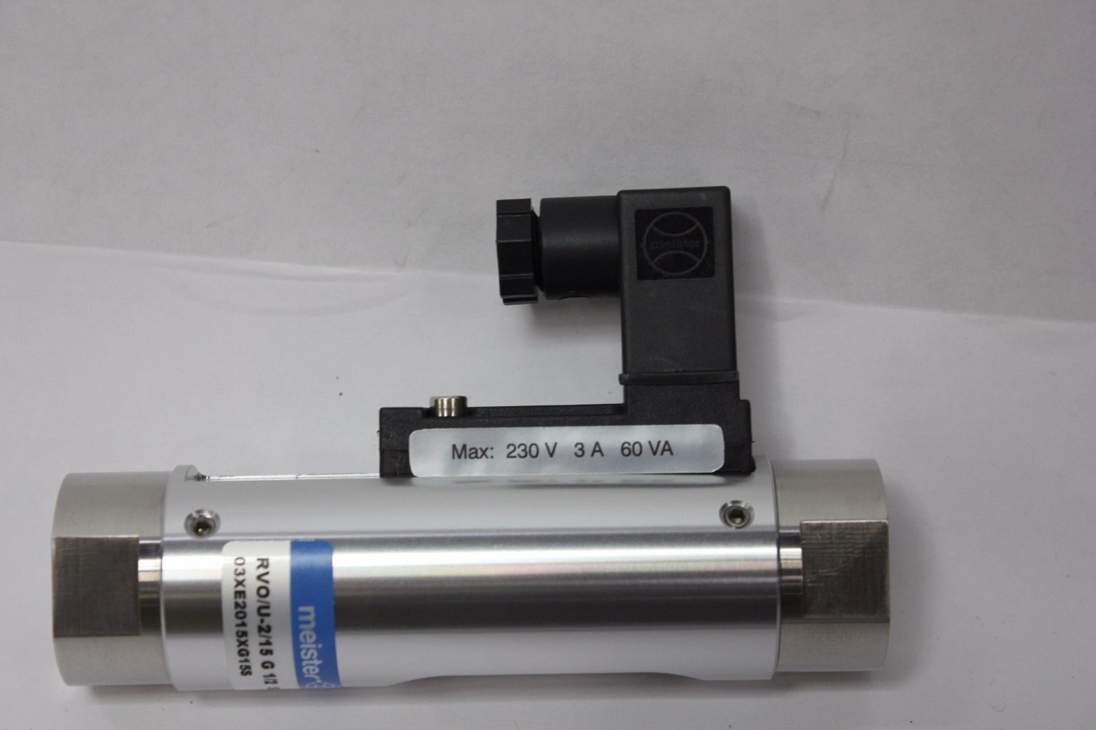 Lot 2A - New Meister 316Ti Liquid Flow Monitor & Indicator