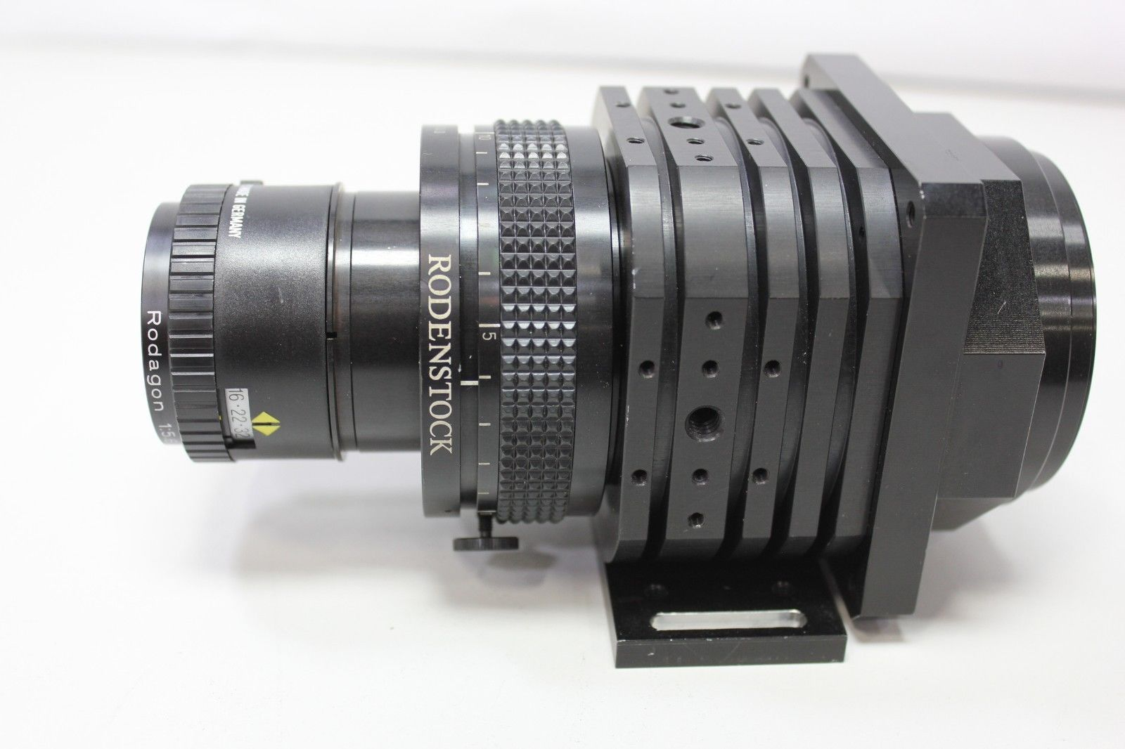 Lot 8C - Schafter & Kirchhoff Digital Line Scan Camera With Rodenstock Lens