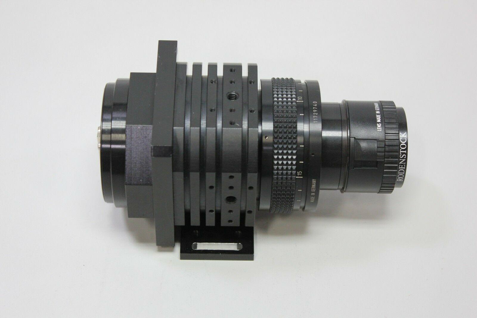 Lot 9E - Schafter & Kirchhoff Digital Line Scan Camera With Rodenstock Lens