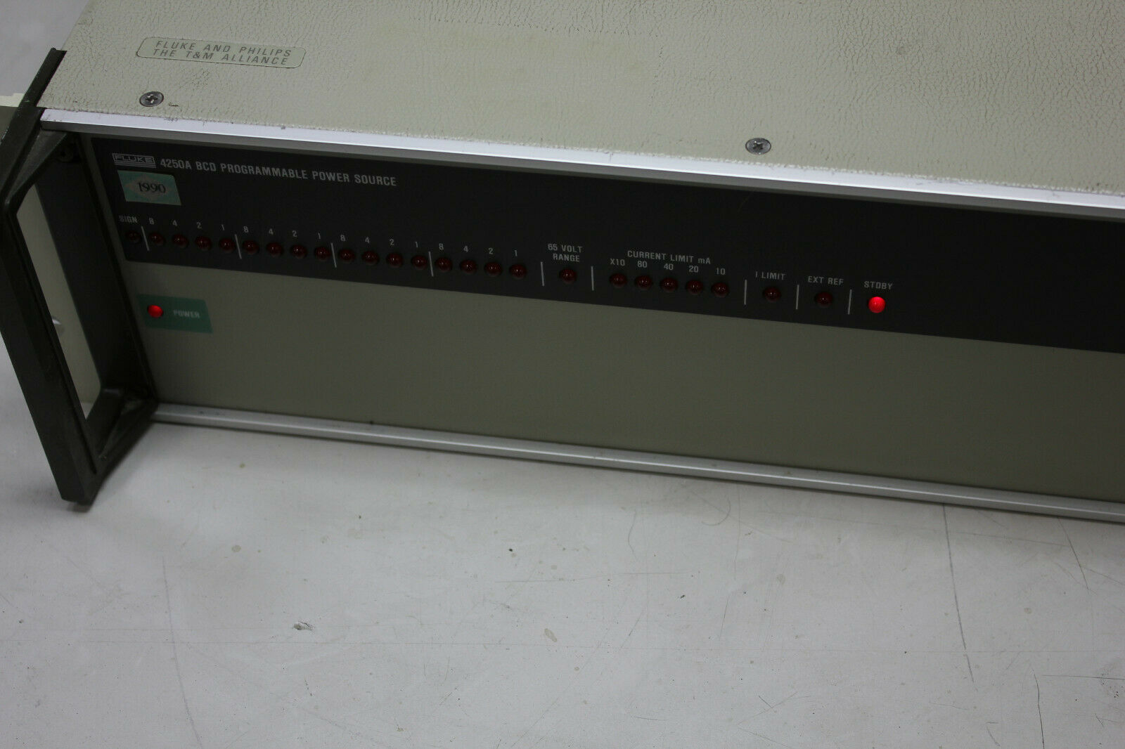 Lot 5A - Fluke 4250A BCD Programmable Power Source With Options