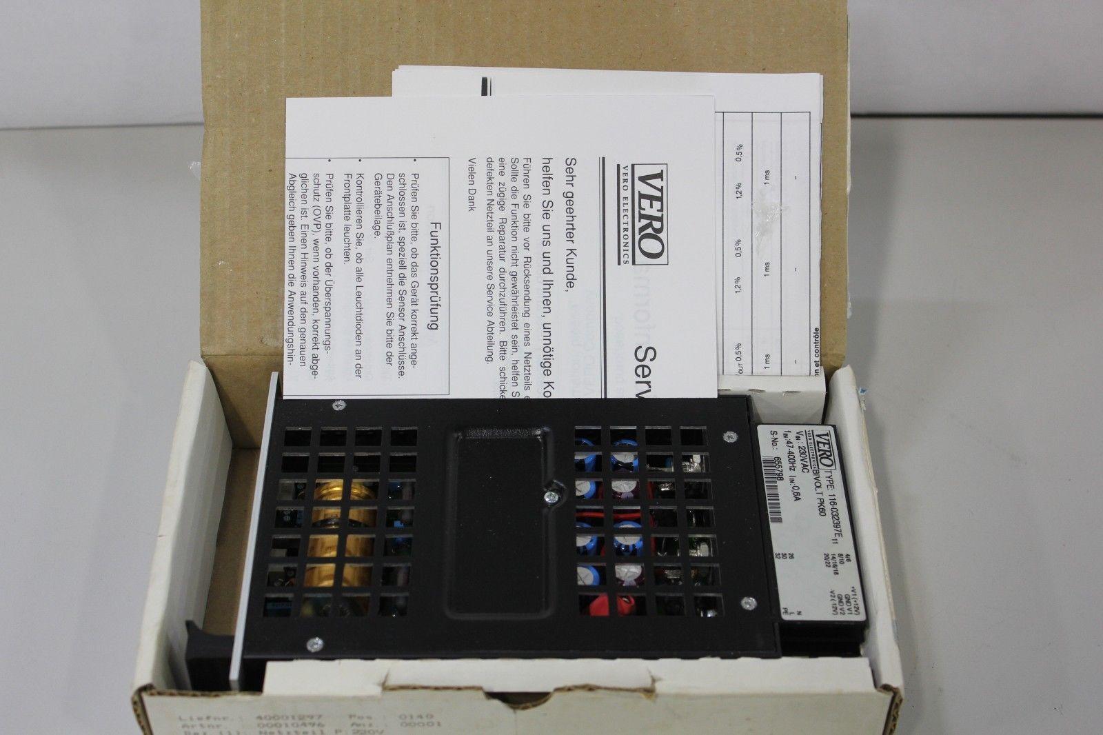 Lot 6B - New Vero Bivolt PK60 Power Supply
