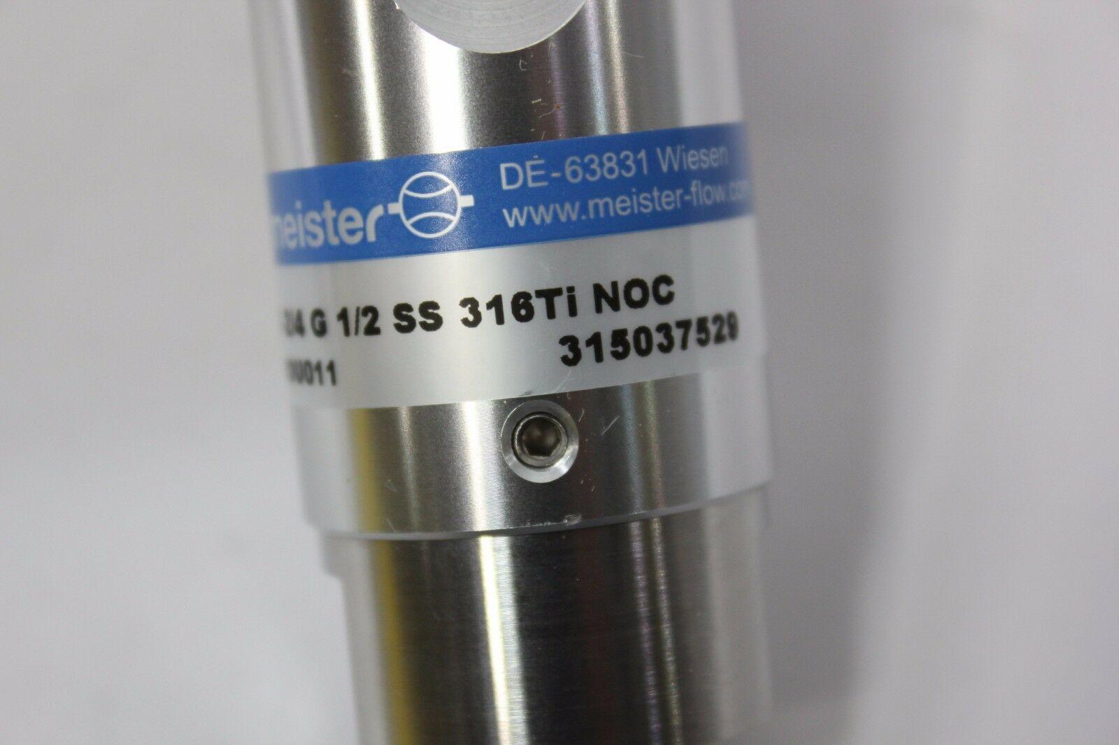 Lot 2D - New Meister 316Ti Liquid Flow Monitor & Indicator