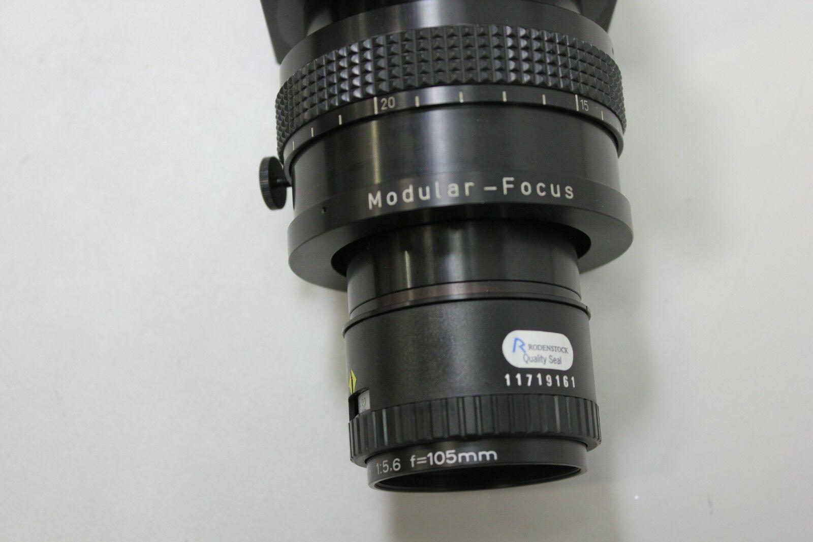 Lot 6A - Schafter & Kirchhoff Digital Line Scan Camera With Rodenstock Lens