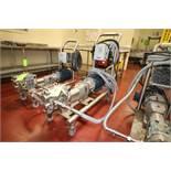 2015 5 hp Positive Displacement Pump, M/N 030-U1, S/N 1000003030015, with Marathon 1755 RPM Motor,