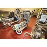 Waukesha Cherry Burrell Aprox. 5 hp Positive Displacement Pump, M/N 030, S/N 43738307,
