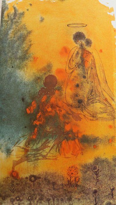 Dali-Bibel Die Bibel mit Bildern von Salvador Dali 1904-1989, Pattloch/Weltbild-Bücherdienst, 1989, - Bild 6 aus 6