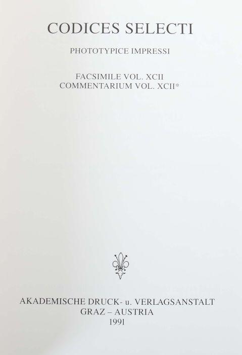 Goslarer Evangeliar Aus dem Stadtarchiv Goslar, Volumen XCII der Reihe Codices Selecti, Goslar/ - Bild 3 aus 6