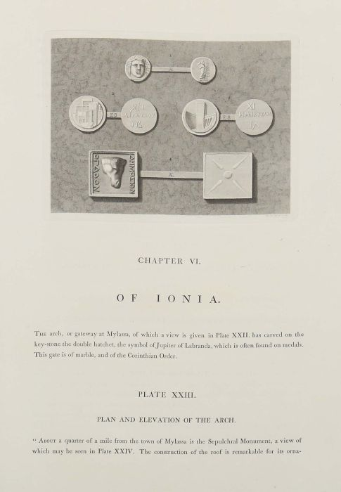 Chandler, Richard Antiquities of Ionia published by the Society of Dilettanti, London, Bulmer & - Bild 5 aus 7