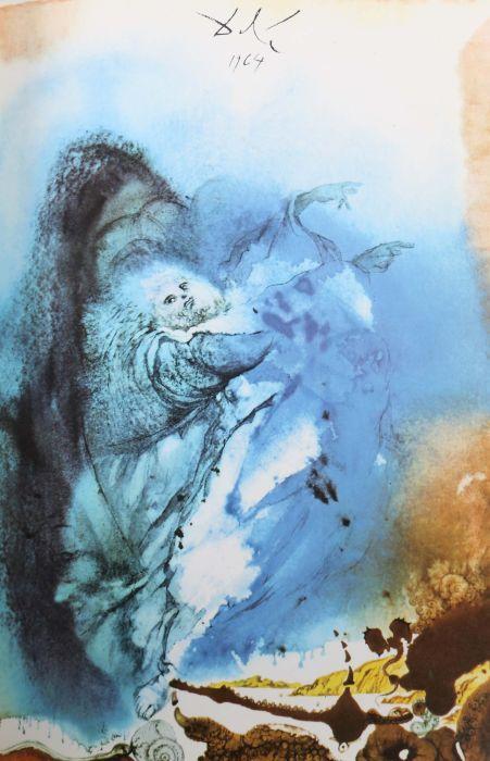 Dali-Bibel Die Bibel mit Bildern von Salvador Dali 1904-1989, Pattloch/Weltbild-Bücherdienst, 1989, - Bild 4 aus 6