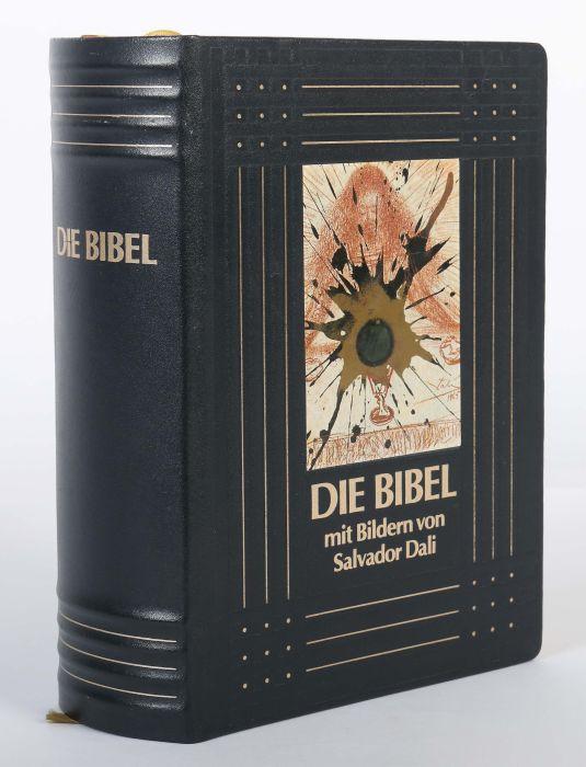 Dali-Bibel Die Bibel mit Bildern von Salvador Dali 1904-1989, Pattloch/Weltbild-Bücherdienst, 1989, - Bild 2 aus 6