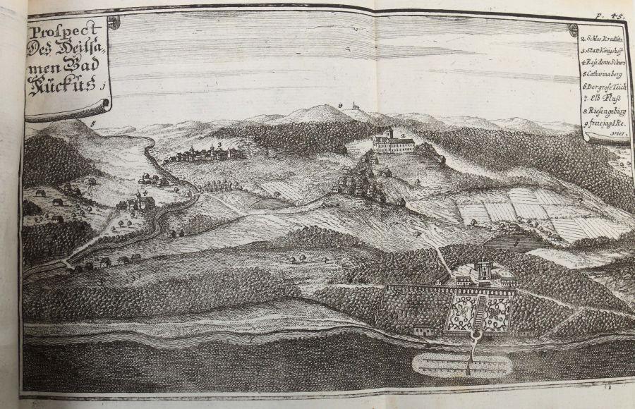 Vogt, Mauritius Das Jetzt-lebende Königreich Böhmen zu einer historisch- und geographischen - Bild 6 aus 12