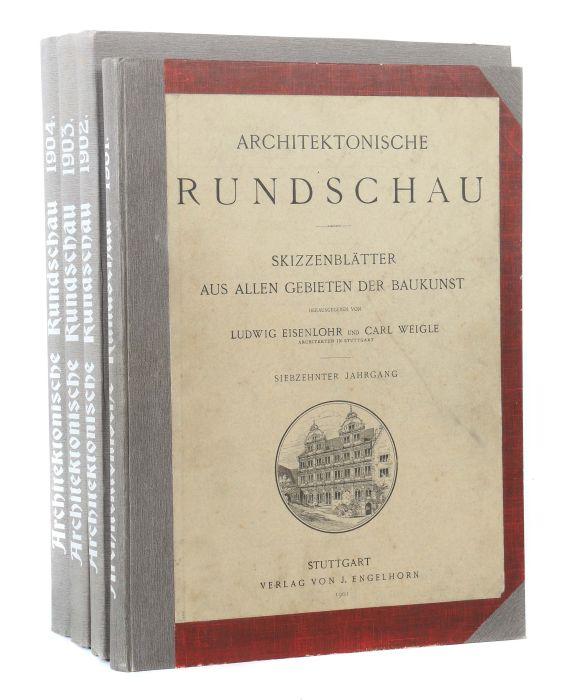 Architektonische Rundschau Skizzenblätter aus allen Gebieten der Baukunst, hrsg. von Ludwig