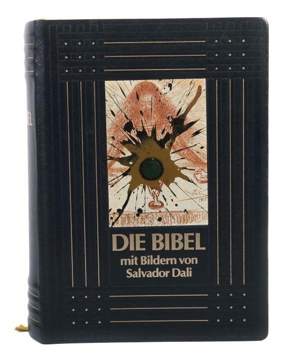 Dali-Bibel Die Bibel mit Bildern von Salvador Dali 1904-1989, Pattloch/Weltbild-Bücherdienst, 1989,