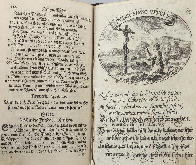 Hohberg, Wolf Helmhardt von Lust- und Artzeney-Garten des Königlichen Propheten Davids. Das ist Der - Bild 4 aus 5