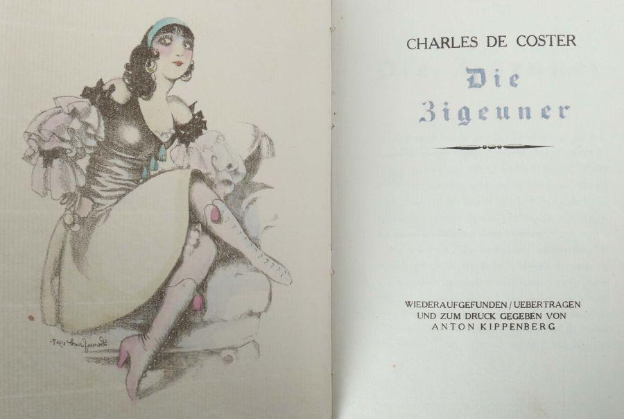 Coster, Charles de Die Zigeuner - wiederaufgefunden / uebertragen und zum Druck gegeben von Anton - Bild 2 aus 3