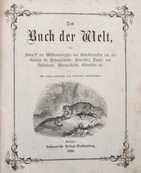Das Buch der Welt ein Inbegriff des Wissenwürdigsten und Unterhaltendsten aus den Gebieten der - Bild 3 aus 5