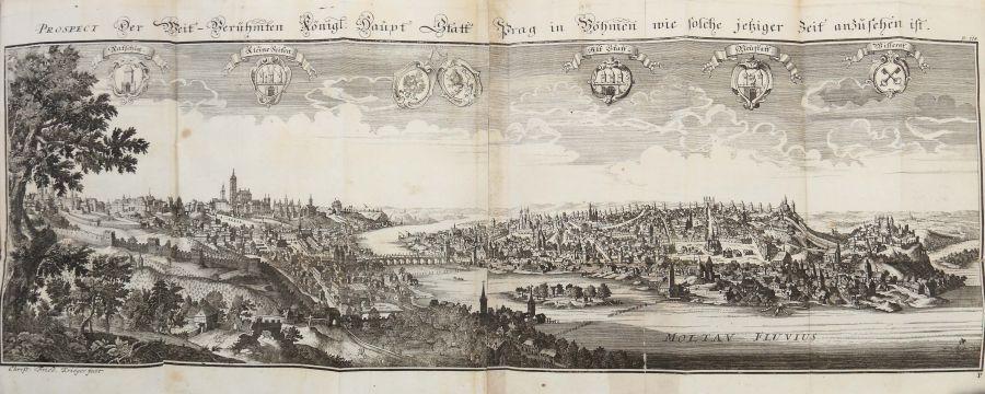 Vogt, Mauritius Das Jetzt-lebende Königreich Böhmen zu einer historisch- und geographischen - Bild 10 aus 12