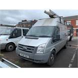 ENTRY DIRECT FROM LOCAL AUTHORITY Ford Transit Van