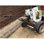 Terex MBR71 Diesel Roller & Trailer