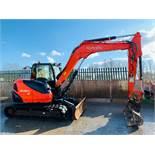 Kubota KX080-4 Excavator