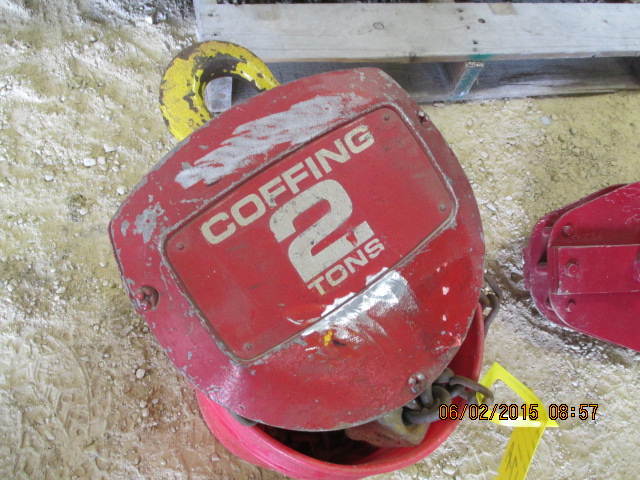 Coffing 2-ton hoist