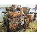 Allis-Chalmers 100kw gen set, 6-cyl, a/c, dsl, no radiator