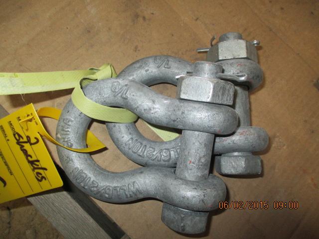 Pr smaller shackles