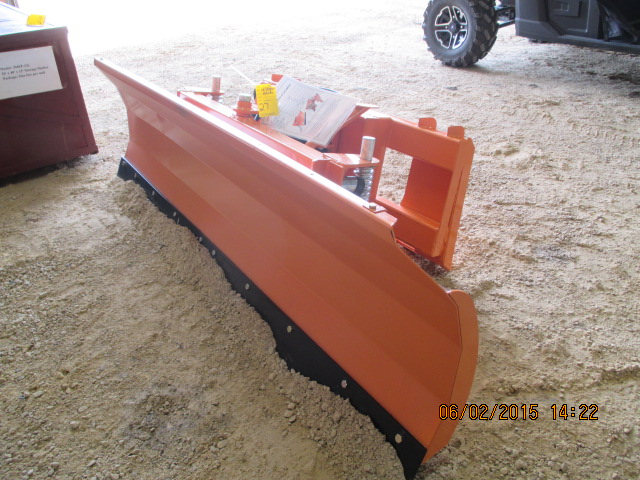 7' hyd angle skidsteer blade, unused - Image 2 of 2