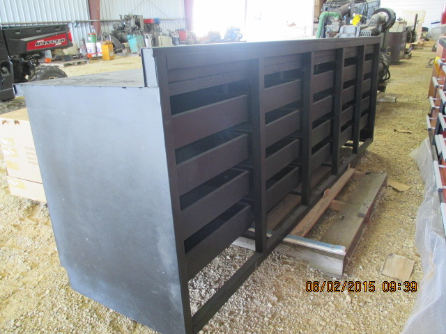 9' steel work bench w/drawers - Image 3 of 3