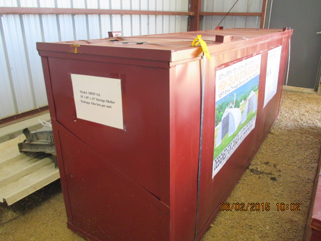 30' x 85' x 15' model 3085P-GL storage bldg in container - Image 2 of 2