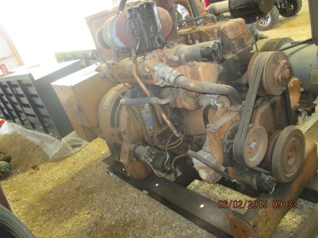 Allis-Chalmers 100kw gen set, 6-cyl, a/c, dsl, no radiator - Image 2 of 3