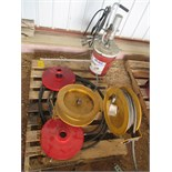 Hose & reel, reel, grease lube