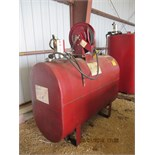 Oil barrel w/hose/reel/pump