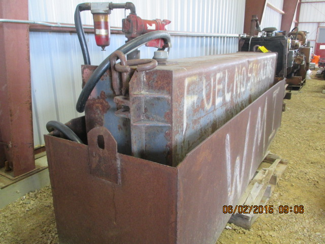 Fuel tank w/elec pump & steel container - Image 2 of 2