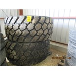 (2) 625/70R25 tires