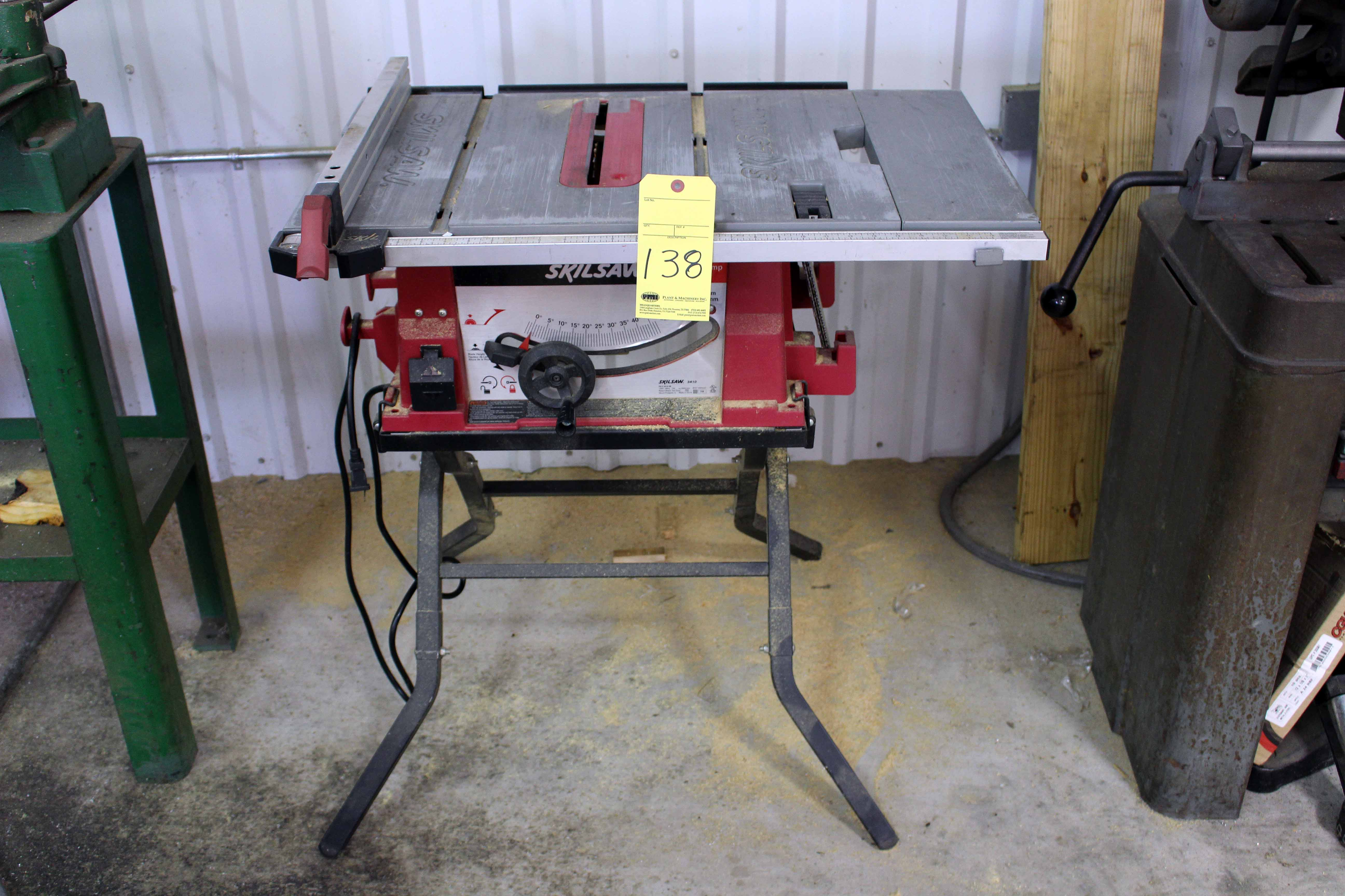 Table saw skil 10 for 10 skil table saw