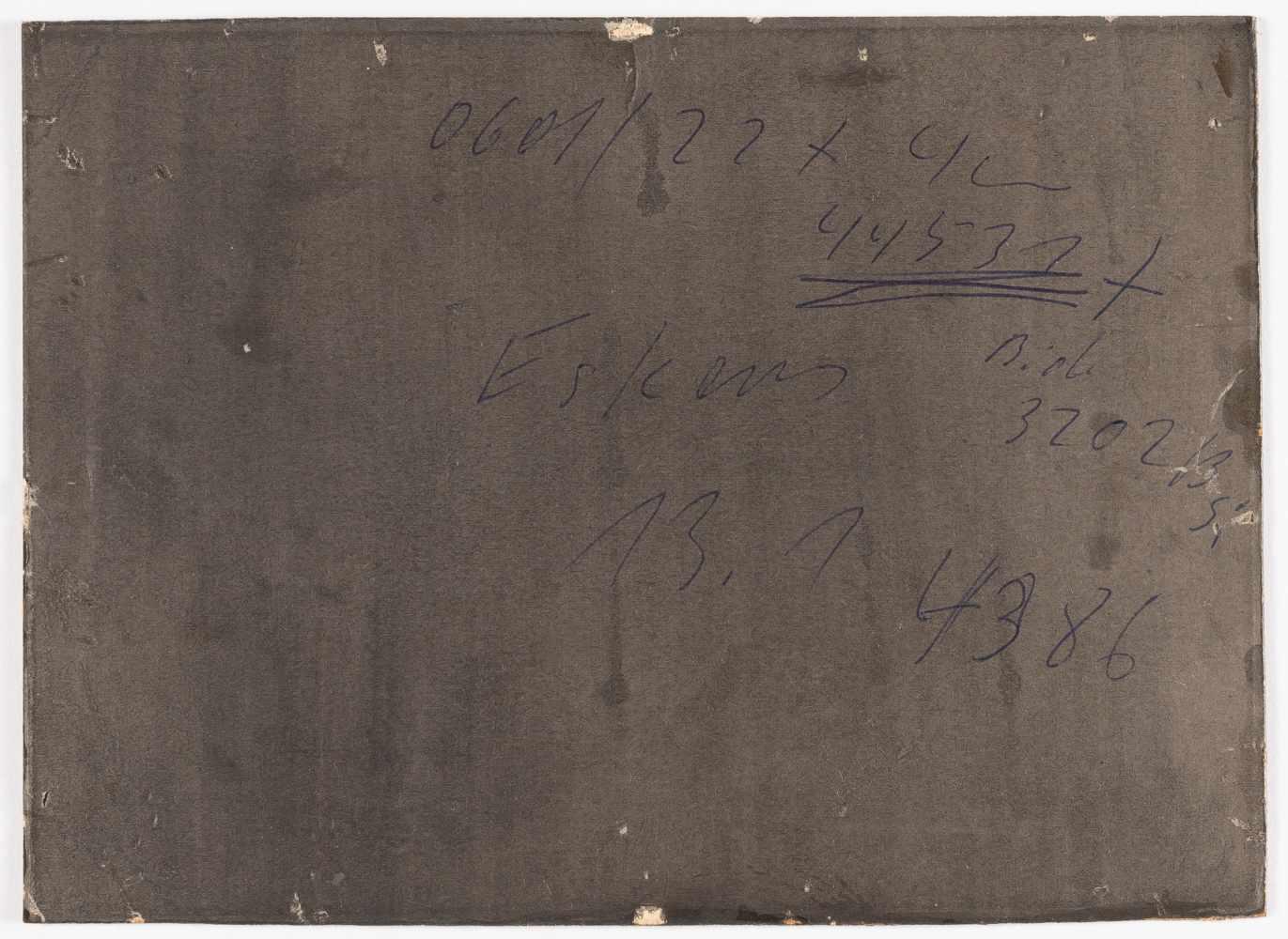 Lot 50 - Andreas Achenbach1815 Kassel - Düsseldorf 1907Segler bei stürmischer SeeÖl auf Papier, auf Pappe
