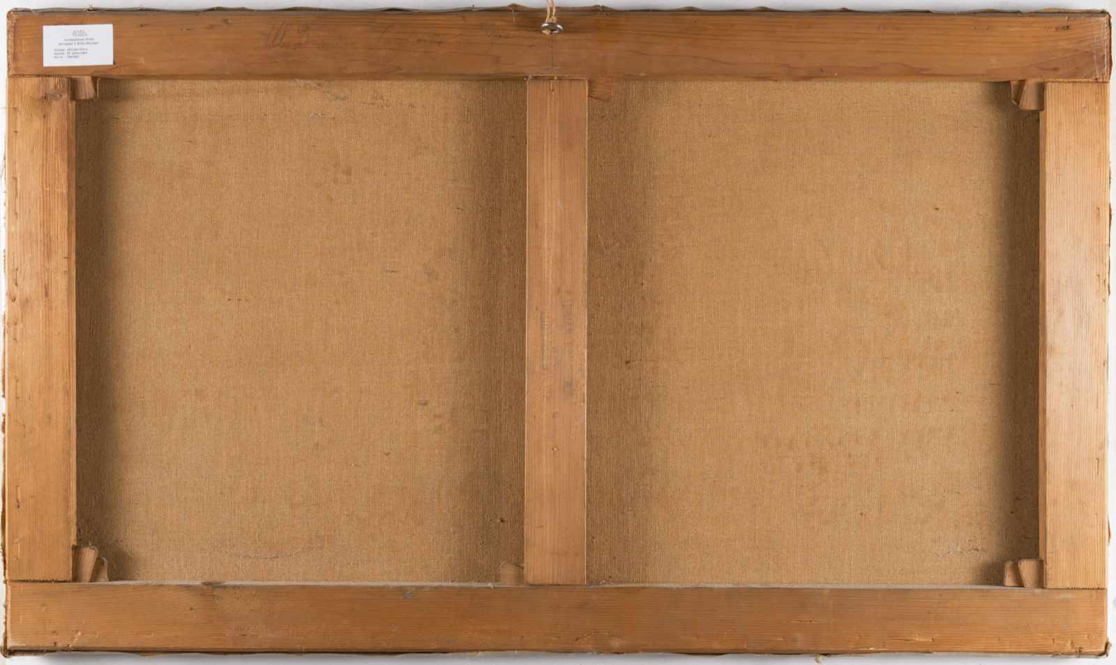 Lot 49 - Karl Heilmayer1829 - München - 1908Venedig bei MondscheinÖl auf Leinwand. 1891. 56,5 x 97 cm.